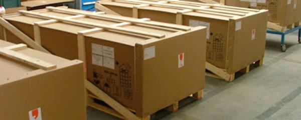emballage industriel en bois